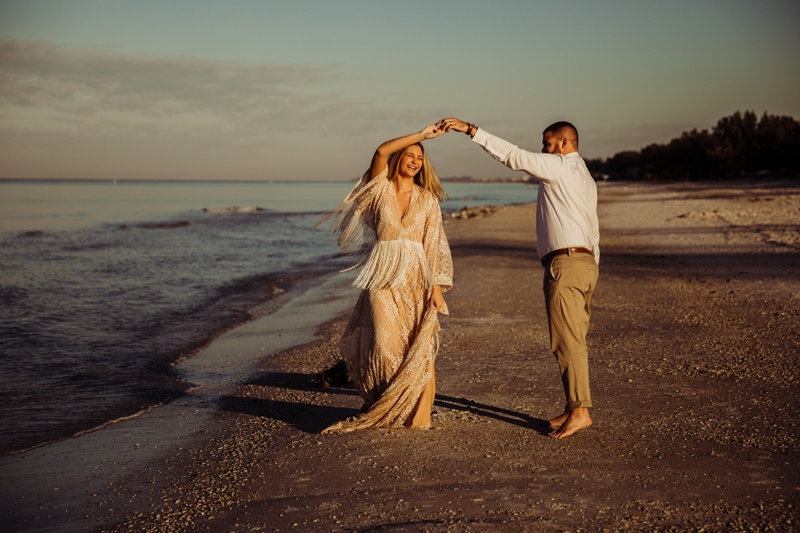 Anna Maria Island wedding photographer | Coquina Beach Elopement