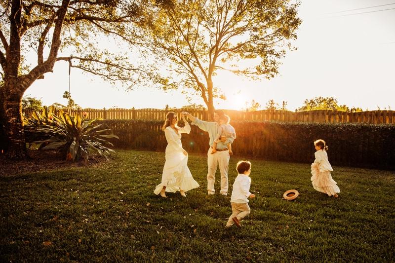 Sarasota Family Photographer | Family home session