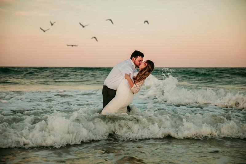 Jacksonville Beach Wedding Photographer | Beach Elopement