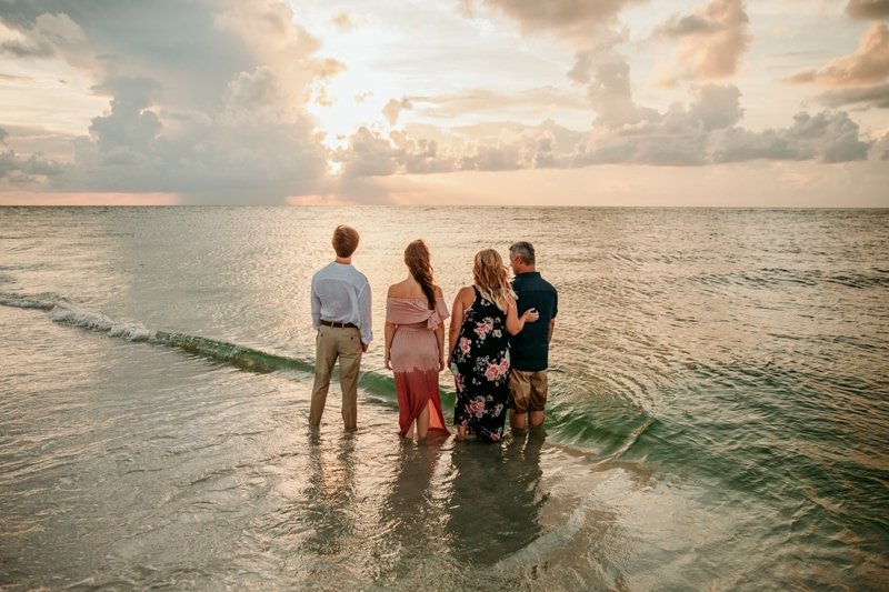 Anna Maria Island photographer | Bean Point family photos
