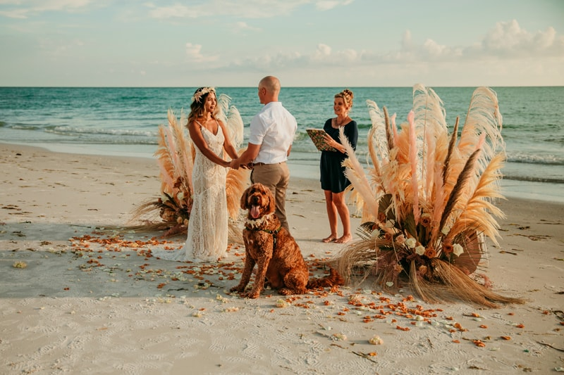 Beach Elopement | Florida Elopement photographer