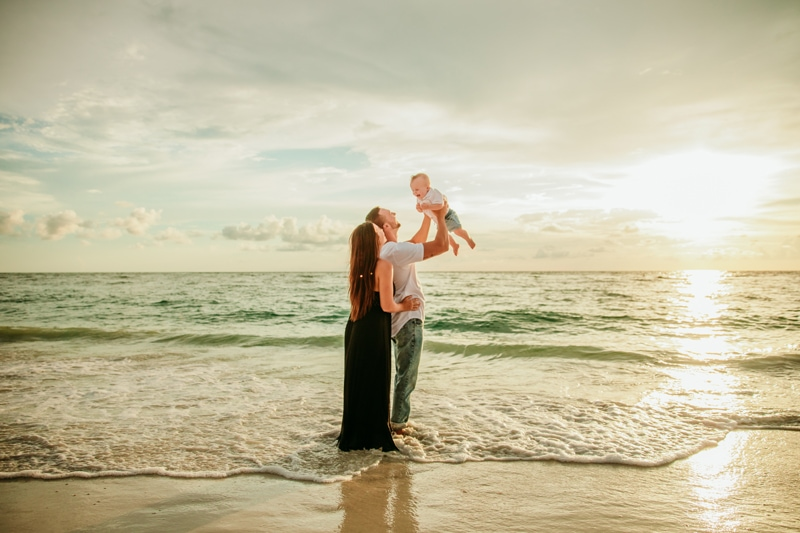 Anna Maria Island Photographer   Family Beach photo session