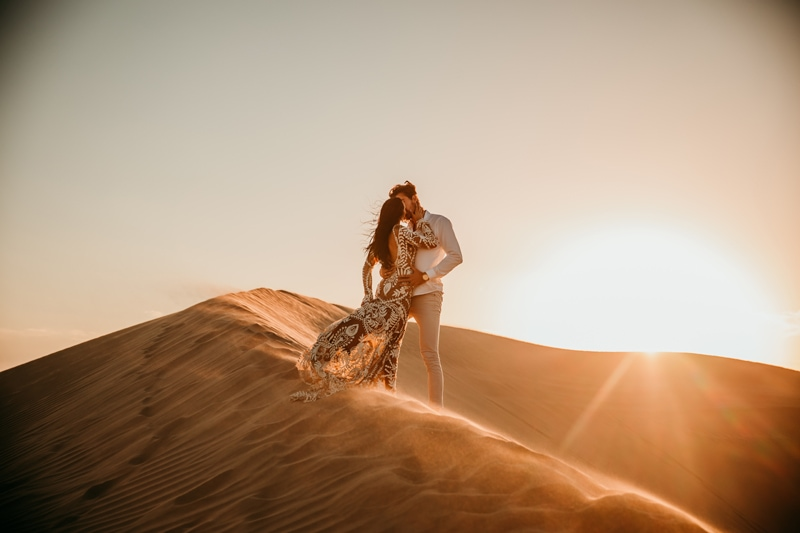 Adventure Elopement Photographer | Sand Dunes Elopement