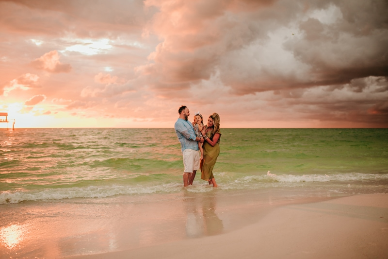 Clearwater Photographer | Family photos + Surprise proposal