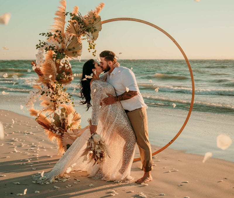 Florida Wedding photographer | Beach elopement