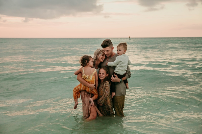 Florida family photographer | Beach family photos