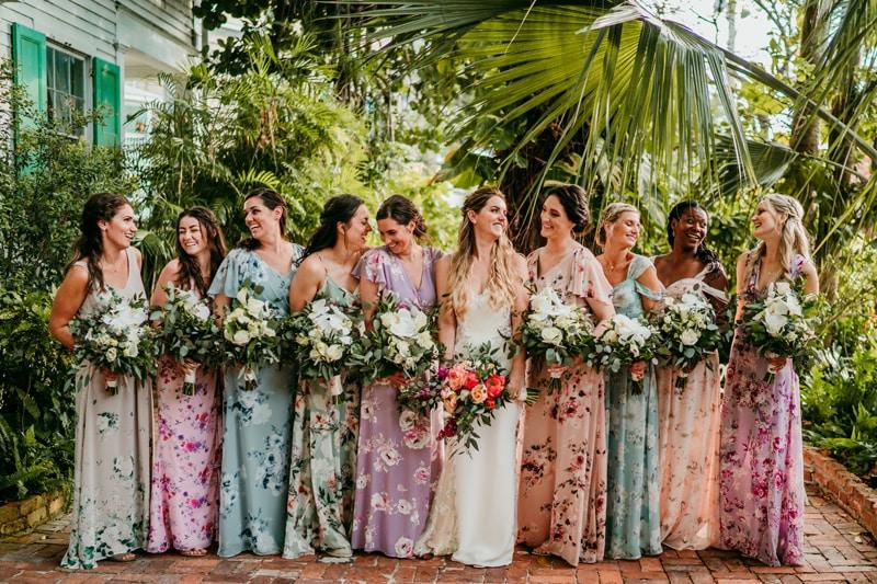 Key West Wedding Photographer | Audubon House Wedding