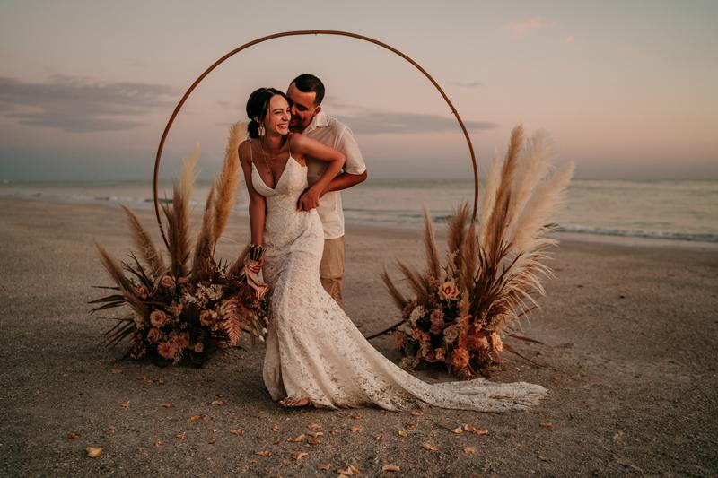 Florida Elopement Photographer | Beach Elopement